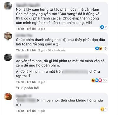 Sau lùm xùm admin fanpage đoàn làm phim 'Cậu Vàng' nói khán giả 'nghèo hèn dốt nát', dù BQT đã lên tiếng xin lỗi nhưng khán giả vẫn nhất quyết tẩy chay phim.