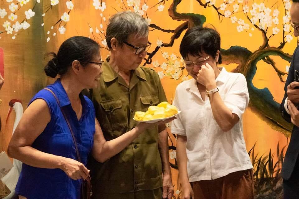 Thảo Vân và bố mẹ Công Lý vẫn giữ mối quan hệ tốt đẹp