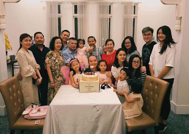 Gia đình Quỳnh Anh và Quang Huy vẫn giữ được quan hệ tốt đẹp và thường xuyên gặp mặt nhau