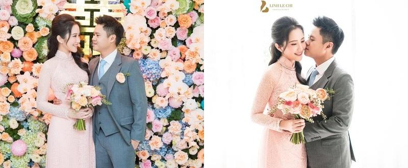 Sau một khoảng thời gian 'im hơi lặng tiếng' trên truyền thông, thông tin thiếu giaPhan Thành và Primmy Trương 'đánh úp'làm đám hỏi đã tràn ngập mạng xã hội qua những hình ảnh được một vài người bạn của cặp đôi hé lộ.