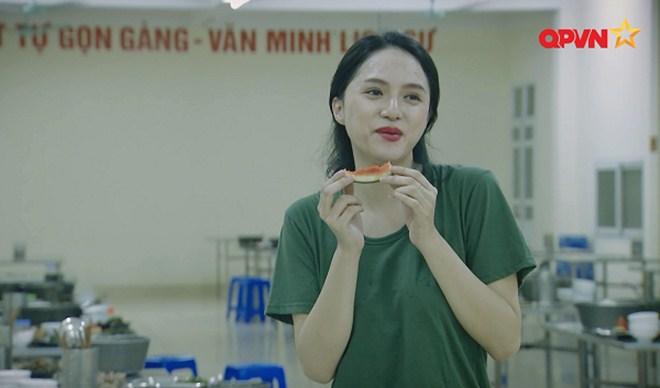 Hương Giang trong Sao nhập ngũ mùa 4