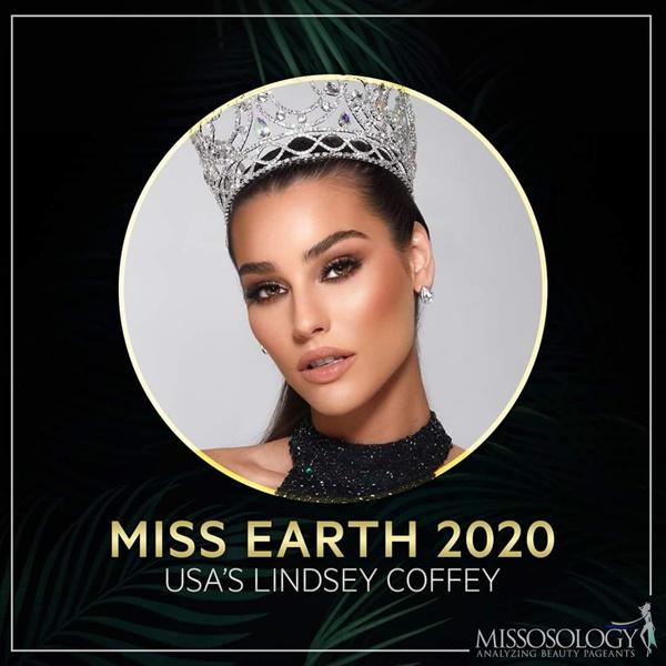 Lindsey Coffey - Tân Hoa hậu Trái đất.