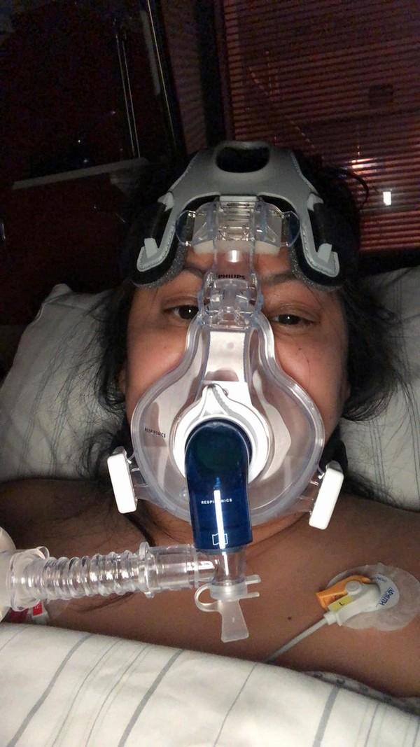 Brittanya Karma đang điều trị căn bệnh Covid-19.