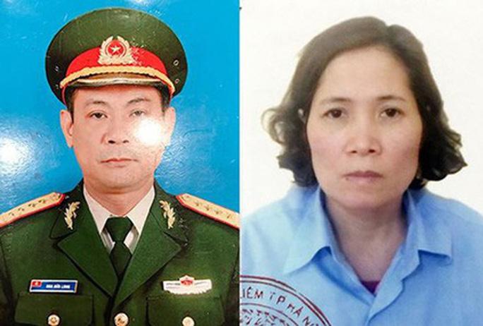 Cặp vợ chồng Hoa Hữu Long và Cao Thị Kim Loan