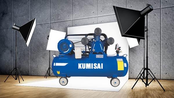 Máy nén khí rửa xe máy, ô tô Kumisai là thương hiệu được khách hàng tin dùng