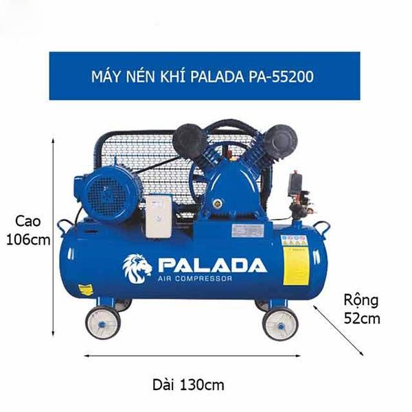Máy nén khí 2 piston Palada PA-55200