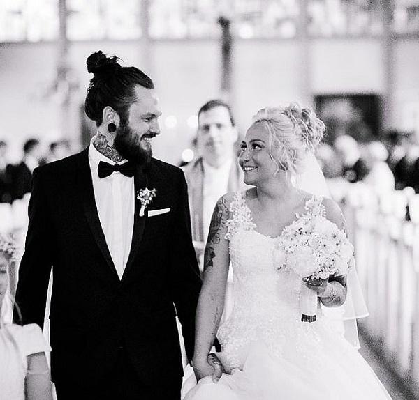 Saskia và Marcin kết hôn vào năm 2018 sau 3 năm hẹn hò