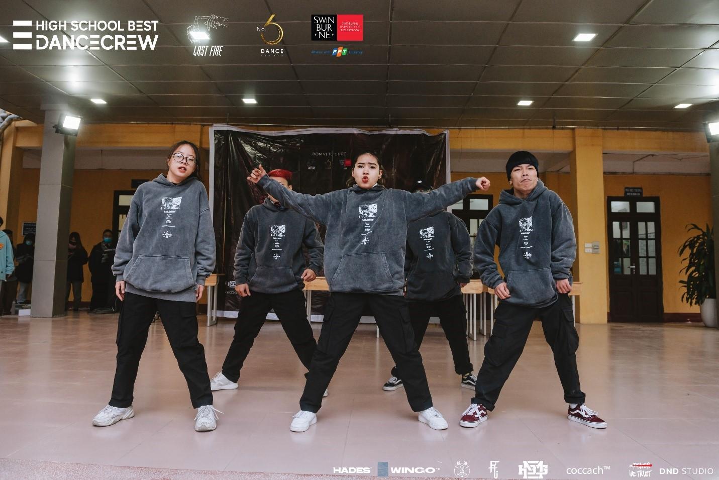 Hades đồng hành cùng giới trẻ trong chương trình High School Best Dance Crew 2021 2