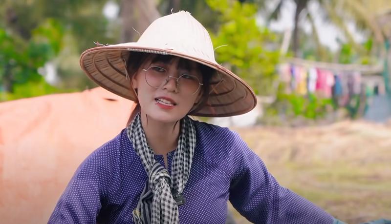 Misthy diện áo bà ba, tham gia thử thách một ngày làm nông dân khiến fan thích thú 4