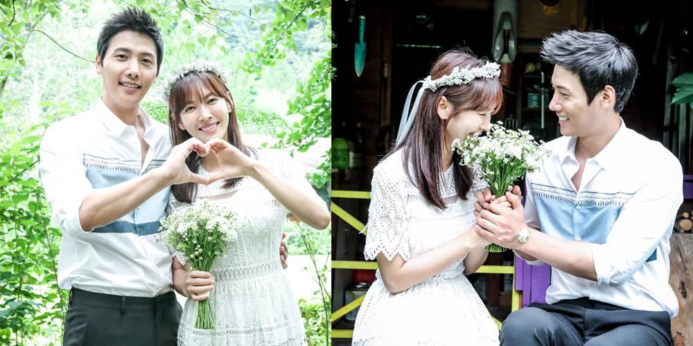 Lee Sang Woo và Kim So Yeon kết hôn năm 2017.