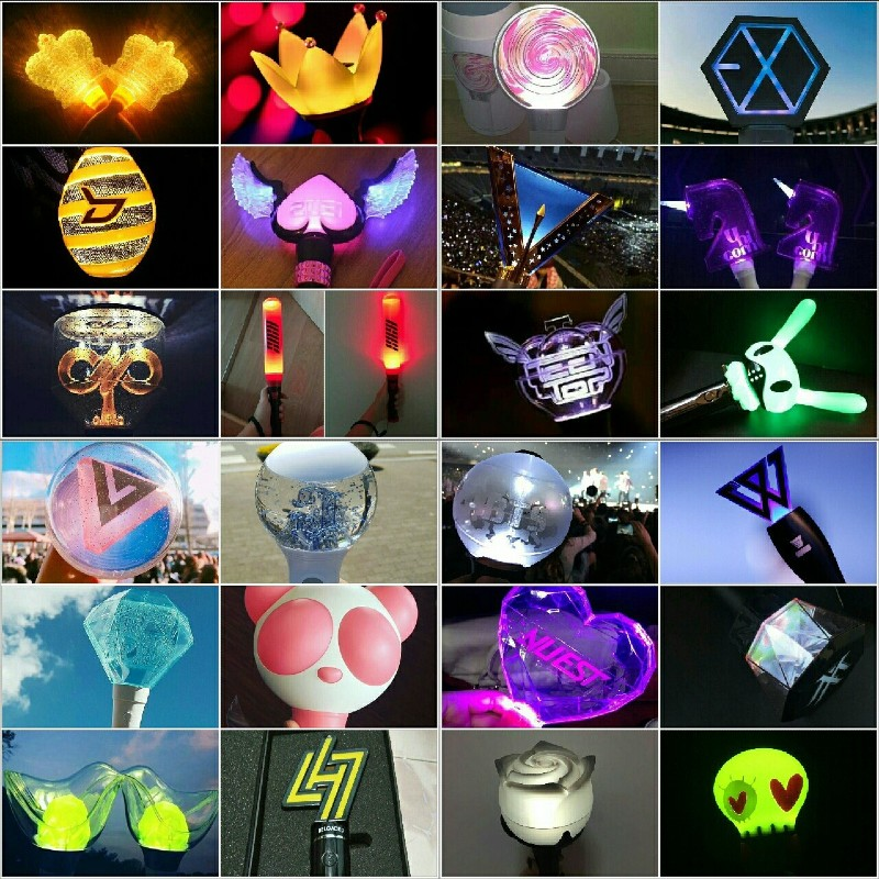 Lightstick vốn là vật rất quen thuộc đối với các khán giả yêu mến Kpop.