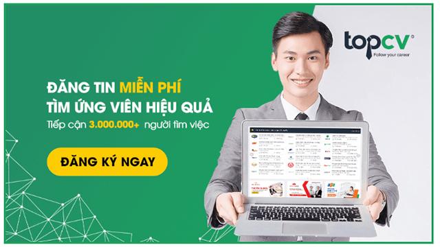 TopCV – Nền tảng công nghệ tuyển dụng hàng đầu tại Việt Nam