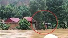 VIDEO: Thót tim cảnh giải cứu 9 người dân giữa dòng nước dữ ở Quảng Nam