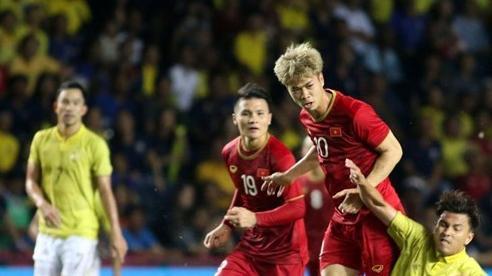 Tuyển Việt Nam hơn Thái Lan 20 bậc trên bảng xếp hạng FIFA