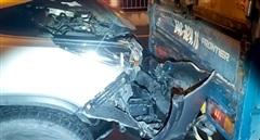 Cầu Rạch Miễu tê liệt vì tai nạn liên hoàn