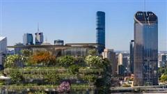 'Khu rừng thẳng đứng' hơn 21.000 cây xanh nổi bật giữa các tòa nhà chọc trời
