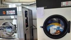 Nâng giá máy giặt từ 2 tỷ lên 12 tỷ đồng bán cho bệnh viện, nữ giám đốc ở Hà Tĩnh bị khởi tố