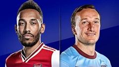 Trực tiếp Arsenal vs West Ham: Derby không cân sức
