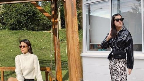 F5 phong cách khi trời trở lạnh với váy nữ tính và giày combat hầm hố như Hà Tăng