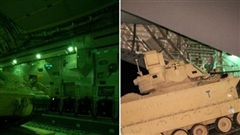 Mỹ đổ M2A2 đến khu vực thường xuyên đụng độ ở Syria
