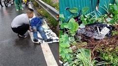 Hà Nội: Chạy xe không quan sát, nam thanh niên bị tàu hỏa tông chết