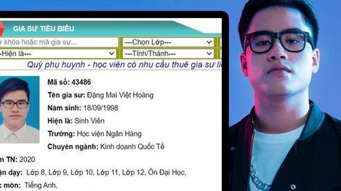 Được truy lùng sau tập 8 Rap Việt, 'cơn địa chấn' G.Ducky lộ profile sáng gia sư, tối về làm rapper!