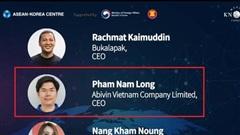 Giải thưởng Doanh nhân ASEAN xướng tên CEO Abivin của Việt Nam cùng CEO kỳ lân Bukalapak