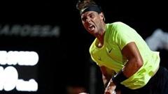 Nadal bị đánh bật khỏi Rome Masters 2020