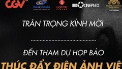 Họp báo 'Thúc đẩy điện ảnh Việt hậu Covid-19'