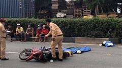 Trở về phòng trọ sau giờ làm, 2 công nhân bị xe container cán thương tâm ở Bình Dương