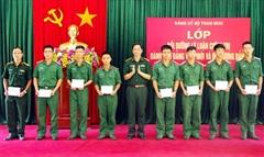 Tạo nguồn phát triển Đảng từ hạ sĩ quan, chiến sĩ