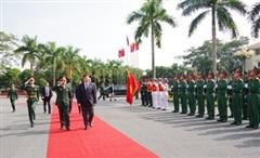 Phục vụ hiệu quả nhiệm vụ đối ngoại quốc phòng