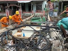 Khôi phục hoàn toàn lưới điện Thừa Thiên - Huế