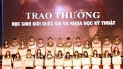 Nghệ An xếp thứ 3 toàn quốc về học sinh giỏi Quốc gia