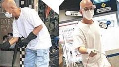 Tài tử TVB làm phục vụ, bưng nước mưu sinh kiếm sống