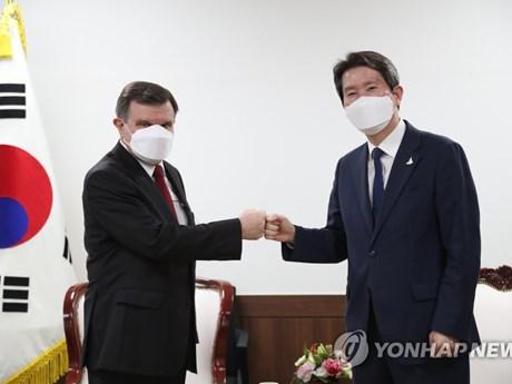 Hàn Quốc kêu gọi Nga hợp tác xây dựng quan hệ liên Triều