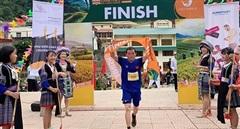Hàng trăm VĐV tham gia Marathon Cung đường mùa vàng Mù Cang Chải