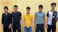 Khởi tố nhóm thanh niên có hành vi gây rối trật tự công cộng