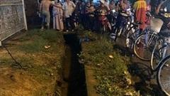 CLIP: Mưa lớn ở Đồng Nai, nước cuốn 1 phụ nữ vào cống mất tích