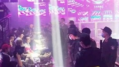 Tiền Giang: Phát hiện hơn 100 'nam thanh nữ tú' mở tiệc ma túy mừng sinh nhật trong quán bar New Club