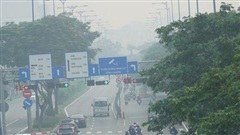 Mù sương lại dày đặc ở TP HCM