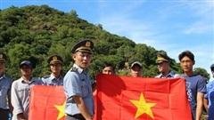 Quần đảo Nam Du rạng ngời cờ Tổ quốc