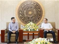 Đẩy mạnh hợp tác tuyên truyền giữa TTXVN và tỉnh Phú Thọ