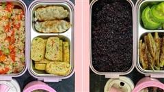 Bộ sưu tập hộp cơm ăn trưa cùng đồng nghiệp của cô nàng đảm đang