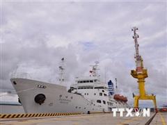 Đại học Hàng hải tiếp nhận tàu huấn luyện do Hàn Quốc viện trợ