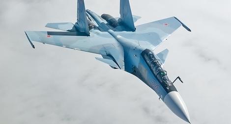 Tiêm kích Su-30 Nga đâm xuống rừng, nghi do trúng đạn của Su-35