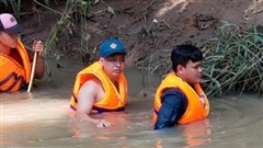 Tìm thấy thi thể người phụ nữ bị nước mưa cuốn trôi 2 ngày trước