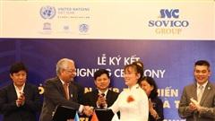 Tập đoàn Sovico và Liên hợp quốc tại Việt Nam ký kết hợp tác chiến lược