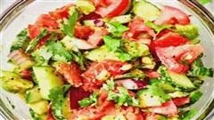 Giảm cân không còn khó khăn với món salad làm trong 10 phút mà ngon vô cùng