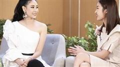 Hoa hậu Hà Kiều Anh tiết lộ lúc đăng quang, khóc đến rơi cả lông mi
